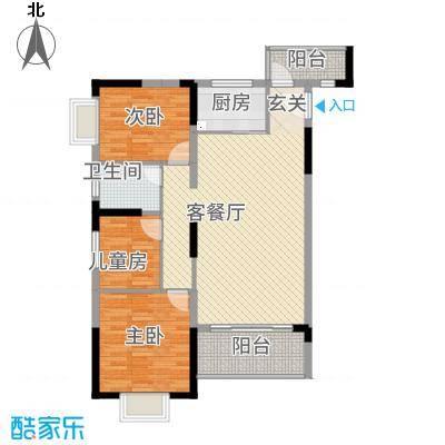 全顺・曼弄枫情11.53㎡C户型3室2厅1卫1厨