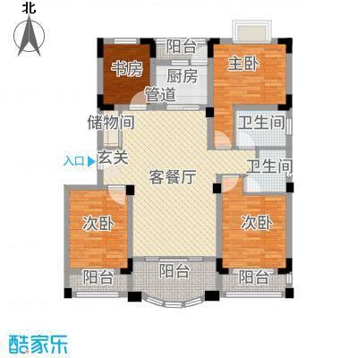 南太武高尔夫澎湖湾138.20㎡47-57栋户型4室2厅2卫1厨