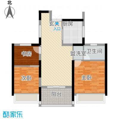 金通黄金海岸8.20㎡C户型3室1厅1卫1厨