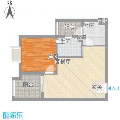 林语江畔e_conew1户型