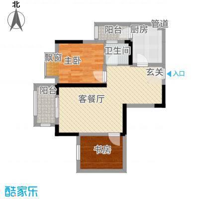 合川金科天籁城6户型