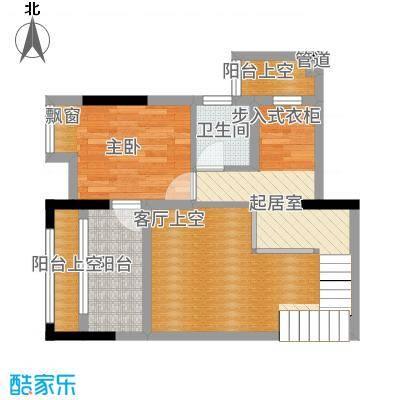 合川金科天籁城3户型