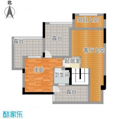 合川金科天籁城5户型