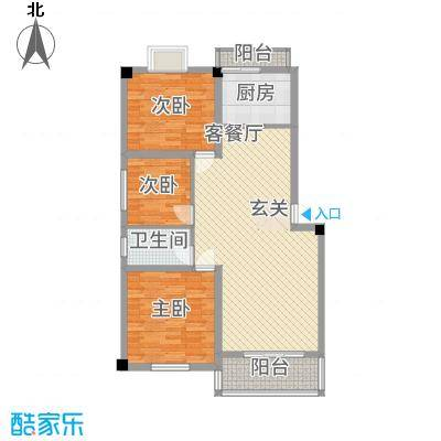 合顺景苑115.00㎡B户型