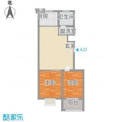中阳・渤海花园872.20㎡户型2室2厅1卫1厨