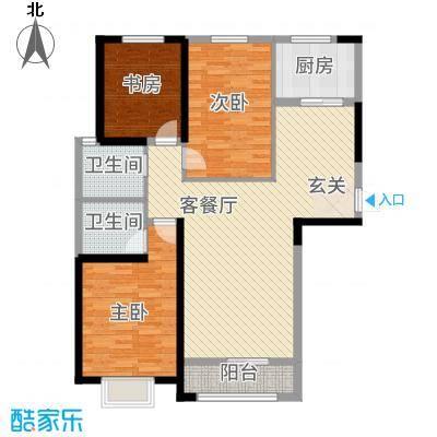 金海名苑313.20㎡户型3室2厅2卫1厨