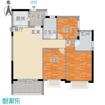 瑞海尚都2013418号楼a3户型