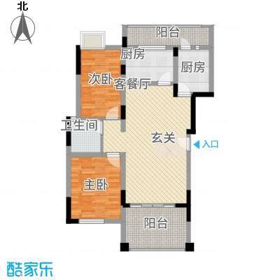 和谐天城15328.66㎡C1D户型3室2厅1卫