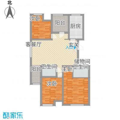 天湖丽景湾2141.20㎡CCF20141104_00003_副本1户型