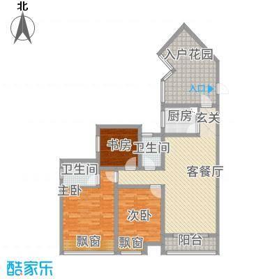 金成・源山518.12㎡b5户型3室2厅2卫1厨