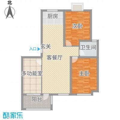 长江国际花园315.25㎡B3户型3室2厅1卫1厨