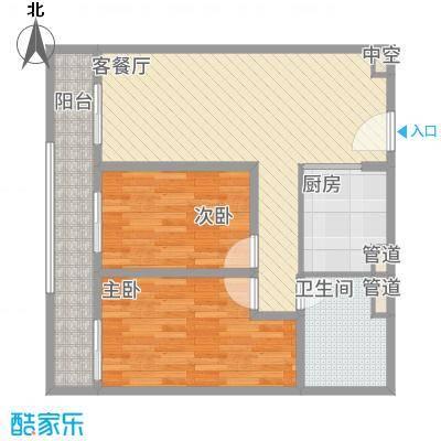 海吉星星世界90.00㎡一期公寓标准层D、E户型-副本