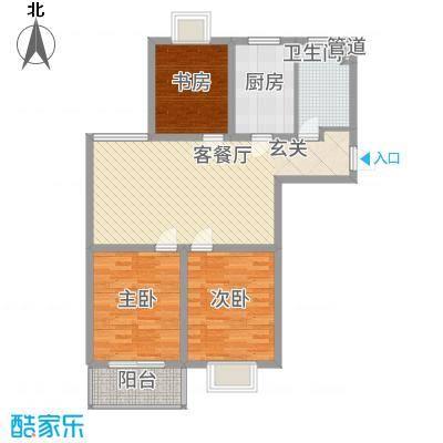 景枫嘉苑15.00㎡户型
