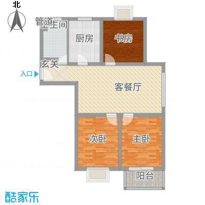 景枫嘉苑18.00㎡户型