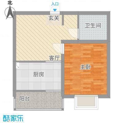 景枫嘉苑61.00㎡户型