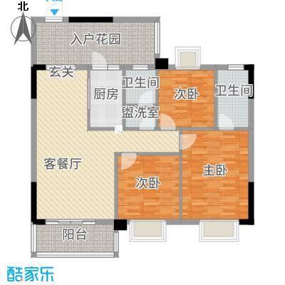 祥和新城6422113.50㎡户型4室2厅2卫1厨