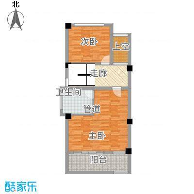 玉水金地・白沙墅C左边二楼平面图户型