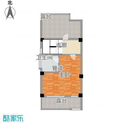 玉水金地・白沙墅C左边三楼平面图户型