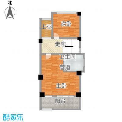 玉水金地・白沙墅C右边二楼平面图户型