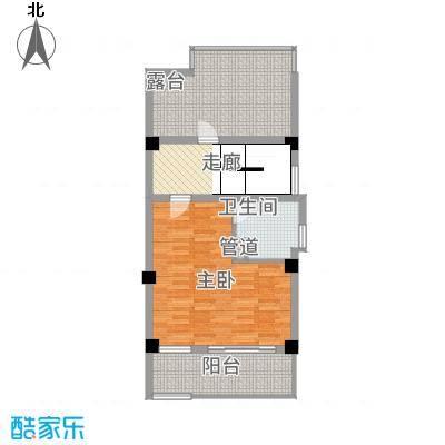 玉水金地・白沙墅C右边三楼平面图户型
