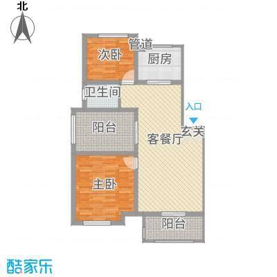 天湖丽景湾1.20㎡1_副本户型