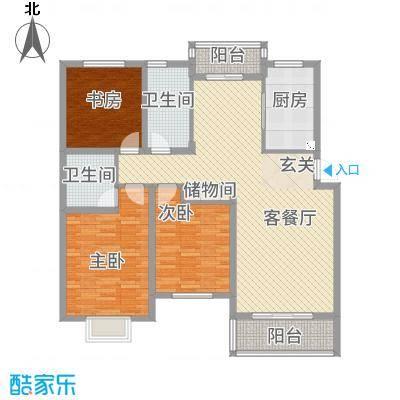 滨河花园32211363840.00㎡户型3室2厅2卫1厨