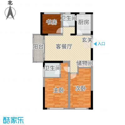 中南世纪城116.00㎡B4116折页-02户型3室2厅2卫