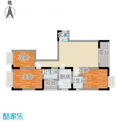 三峡明珠大厦7113.46㎡b7户型