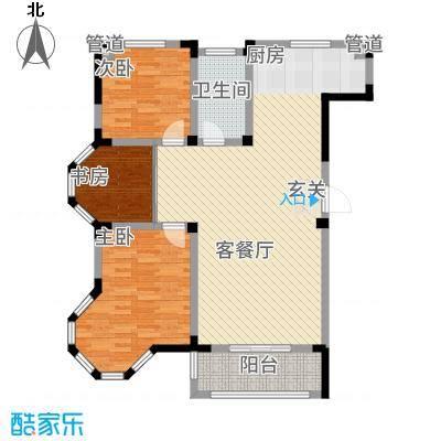 东方花园3136.20㎡G户型3室2厅1卫1厨