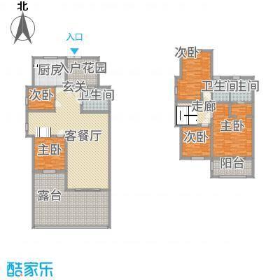 广联翠屿182.20㎡高台宅邸DJ-A户型