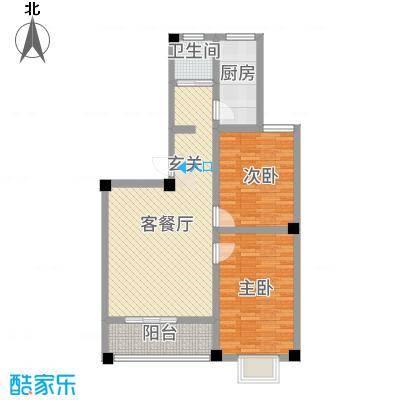 公交集资房户型2室