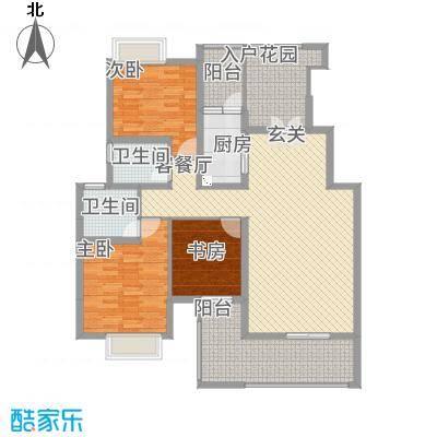 景勐仑・悦城115.46㎡户型2室2厅2卫