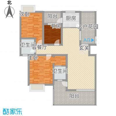 景勐仑・悦城114.80㎡户型3室2厅2卫