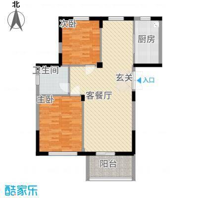 东方华庭326.82㎡G3户型2室2厅1卫1厨