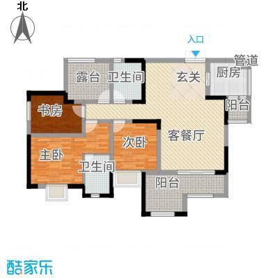 昌龙阳光尚城8.20㎡一期8幢标准层8-3户型