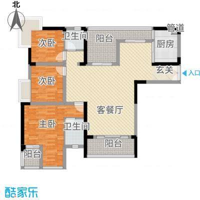 昌龙阳光尚城8.20㎡一期8幢标准层12-1户型