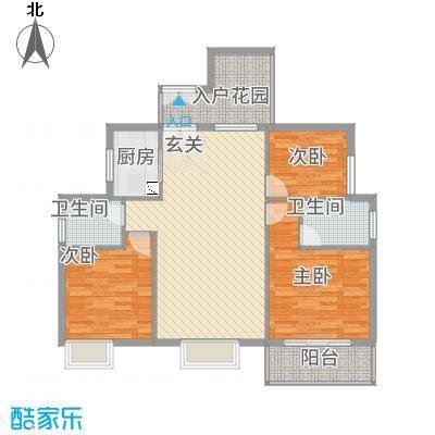 浅水湾・中央公园11.22㎡J户型3室2厅2卫