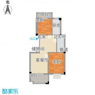 东方丽池3.30㎡户型