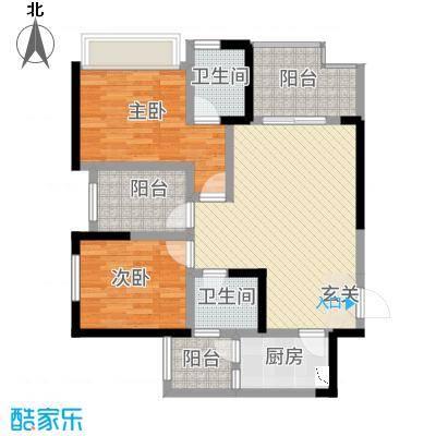 帝景名苑别墅户型4室