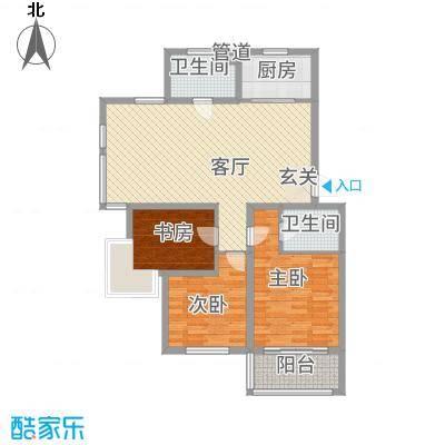 菁华时代122.00㎡户型