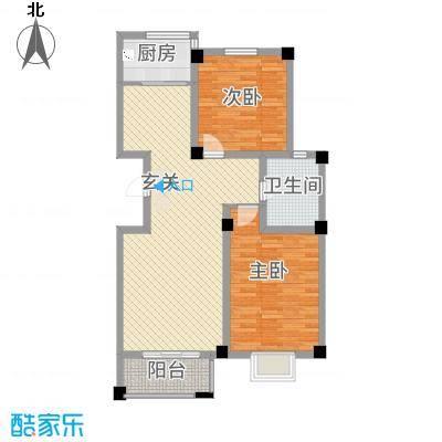 昆城豪庭1.74㎡户型