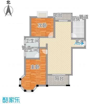 昆城豪庭112.70㎡户型