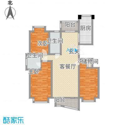 中创泰和苑151.46㎡户型