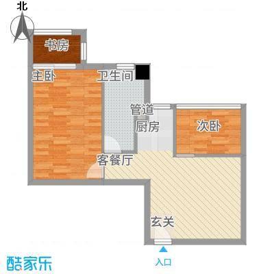 朝阳广场72.00㎡昆山户型
