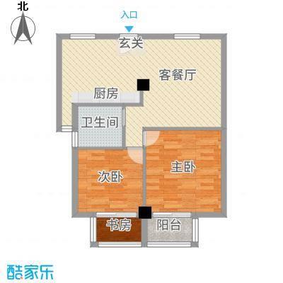 朝阳广场83.00㎡昆山户型
