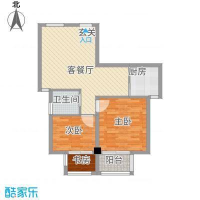 朝阳广场81.00㎡昆山户型