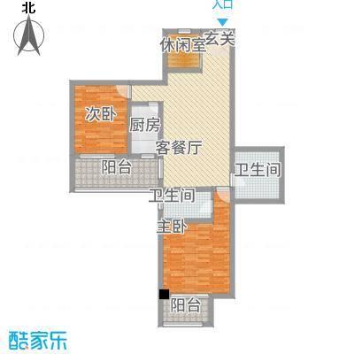 朝阳广场125.00㎡昆山户型