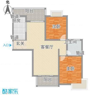黄浦城市花园15.31㎡户型