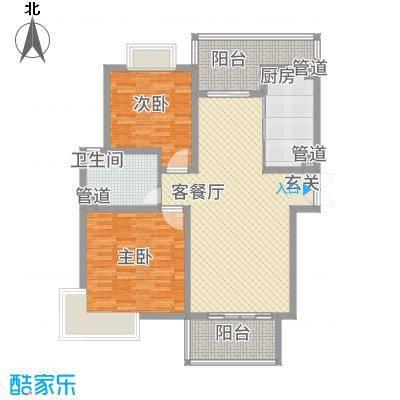 黄浦城市花园13.33㎡户型