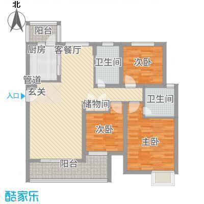黄浦城市花园12.20㎡户型